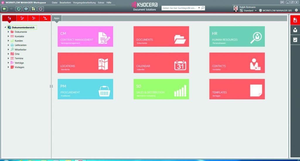 Kundendaten immer im Griff mit dem KYOCERA Workflow Manager SD